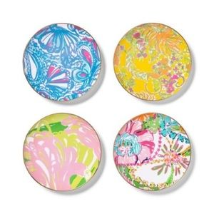Lilly Pulitzer for Target Appetizer Plates NWT